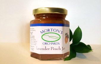 Lavender Peach Jam