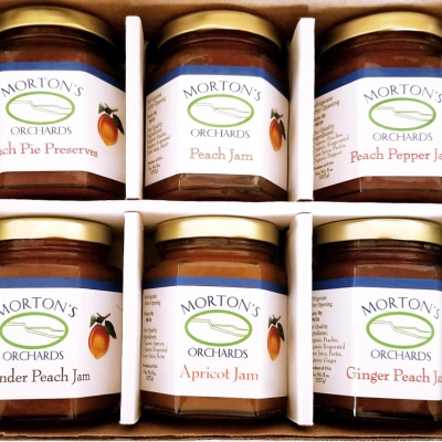 Morton's Organic Jams – 6 pack
